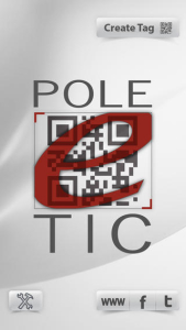Poleetic lance une application mobile lecteur de QRcode / Codebar 2D